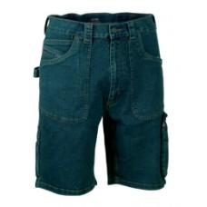 "bermuda jeans cofra ""havana"" colore blu"