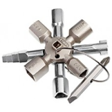 chiavi knipex multiuso art.00-11 01 per tutti sistemi di chiusura più comuni, corpo chiave