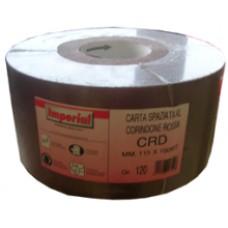 "carta abrasiva vetro spaziata ""CRD"" a rotoli h.cm.11,5"
