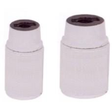 portalampade CE camicia liscia colore bianco
