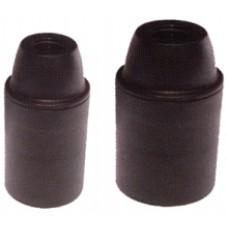 portalampade CE camicia liscia colore nero