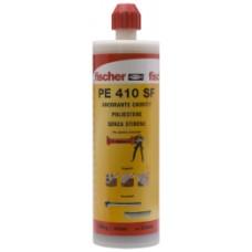 """ancorante chimico fischer """"PE 410 SF"""" ml.410 bicomponente in poliestere"""
