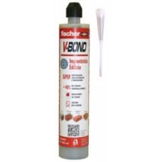 """ancorante chimico fischer """"V-BOND"""" ml.300 bicomponente in vinilestere ibrido"""