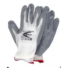 """guanti da lavoro cofra """"labour"""" CE colore bianco (3132)"""