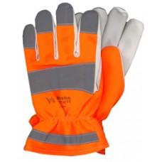 """guanti da lavoro """"vega"""" brake colore arancio/bianco (3221)"""