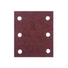 carta abrasiva a fogli quadrati con velcro
